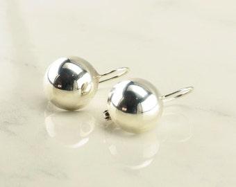Sterling Silver Minimalist Clip On Earrings