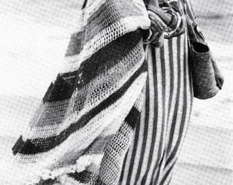 DIY Beach Caftans PDF Vintage Crochet Pattern