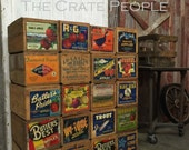 Vintage Wood Crates - Apple Crates - Hundreds in Stock