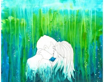 Drown In Someone - 11x14 Original