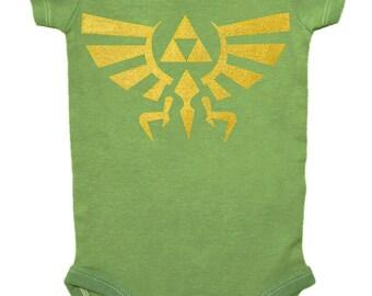 SALE! - 16.00 --> 12.50, Zelda, Baby Bodysuit, Link