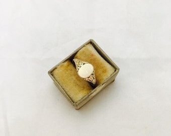 Vintage Gold Filled Simple Classic Ring - Size 6.5
