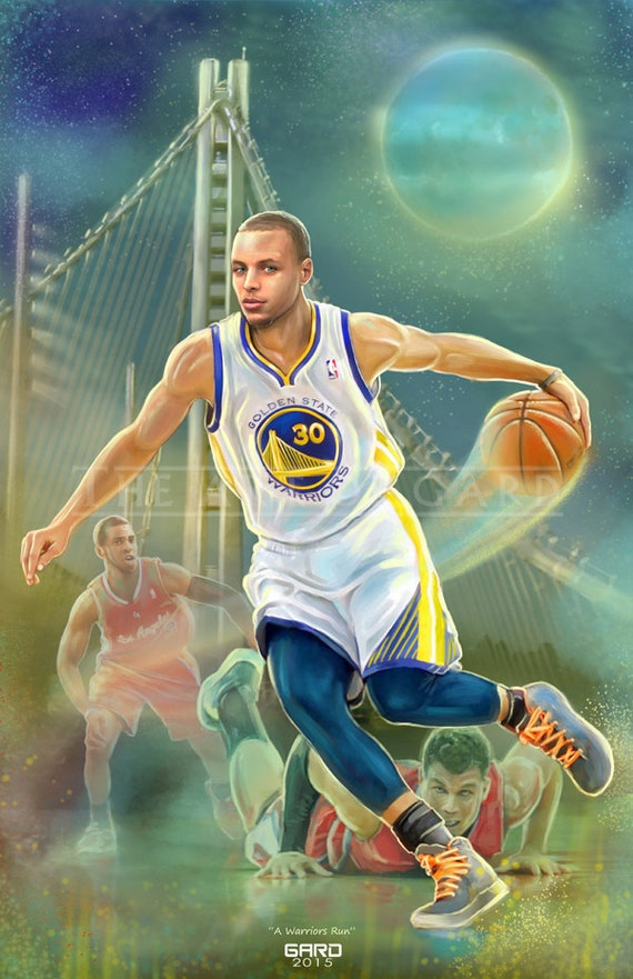 "Stephen Curry ""A Warriors Run"""