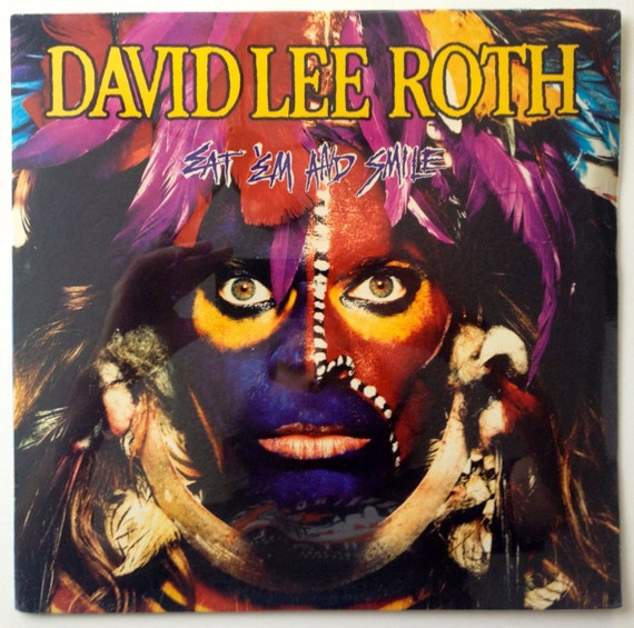 David Lee Roth Eat Em And Smile Sealed Lp Vinyl Record