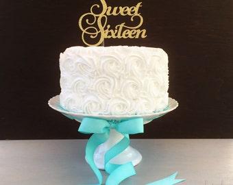 Sweet Sixteen, 16th Birthday Cake Topper