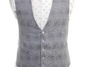Vintage Melliard Of London Paisley Waistcoat 40 M - www.brickvintage.com