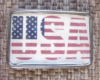 American flag belt buckle Patriotic belt buckle American Flag jewelry mens belt buckle women's belt buckle Old Glory rustic Belt Buckle USA