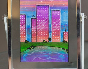 ACEO: Pink Star City