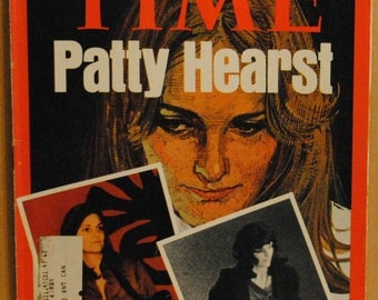 Patty Hearst as Tania, kidnap victim of S.L.A. April 29, 1974 Time Magazine