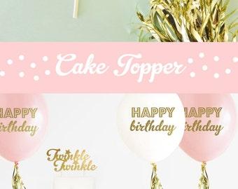 Twinkle Twinkle Little Star Cake Topper Twinkle Little Star Birthday Decor Twinkle Cake Topper Twinkle Little Star Baby Shower (EB3116)