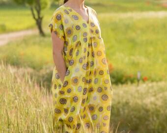 Sunflowers dress (before 120 euros)