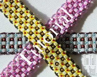 Crisscross Chequerboard Bracelet