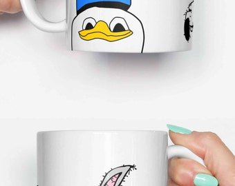 Gooby Gang dolan duck - funny mug, gifts for him, meme mug, unique mug, office mug, housewarming gift, gifts for her 4P010A