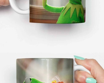 Kermit but thats non of my business - funny mug, gifts for him, meme mug, unique mug, office mug, housewarming gift, gifts for her 4P092A