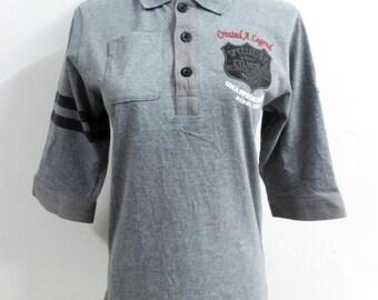 Norton Polo Shirt 3 Quarter Made In Japan