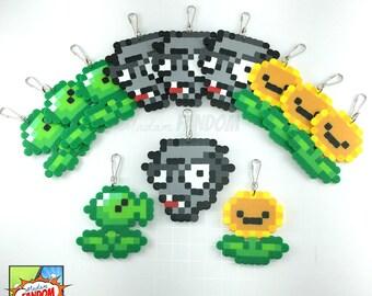 12 pcs plants vs zombies party favors zipper pulls i plants vs zombies party supplies i - Zombie Party Supplies
