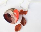 raku bowl, colorful ceramic small organizer, modern and geometric style