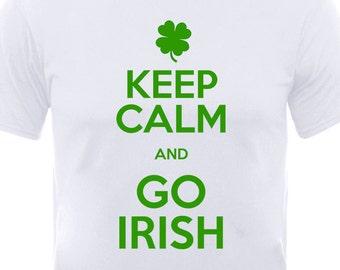 "St. Patrick's Day ""Keep Calm and Go Irish"" T-Shirt"