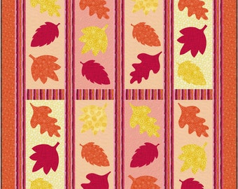 Falling Leaves Quilt Pattern - INSTANT DOWNLOAD