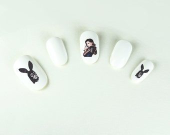 DANGEROUS WOMAN Nail Decals Ariana Grande