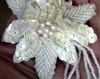 Angel Flowers Original Hand Made Jewels Pearls Kissing Balls Decorative Balls Fan Pull Lamp Ornament Valentines Day
