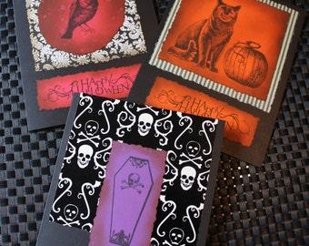 Gothic Greetings - Halloween Set