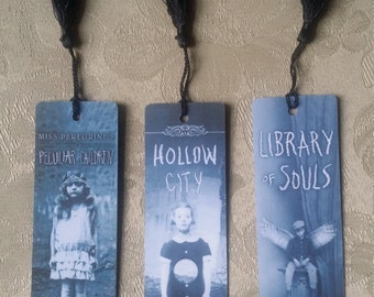 Miss Peregrine's Home for Peculiar Children bookmarks