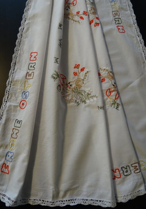 Vintage German tablecloth