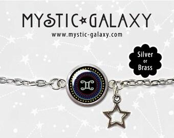 Gemini Bracelet, Zodiac Bracelets, Gemini Charm Bracelet, Gemini Jewelry, Gemini Gifts, Astology Bracelet