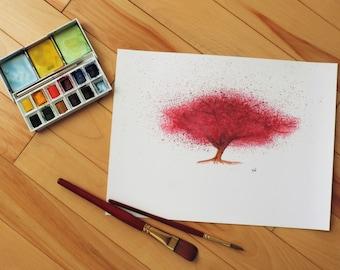 Japanese Cherry Tree (Sakura) - Print