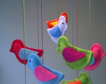Felt Birdie Mobile