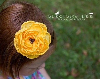 Pick Your Color Large Bloom Clip or Headband