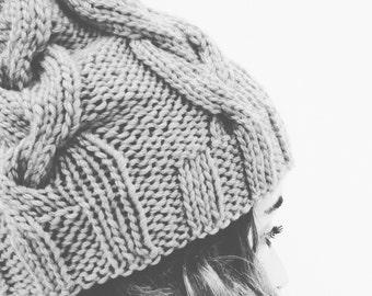 Knitting Pattern THE POP HAT