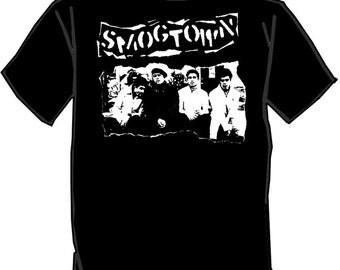 SMOGTOWN silk screened t-shirt Punk