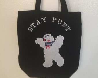 Stay puft marshmallow man Halloween treat bag!!!
