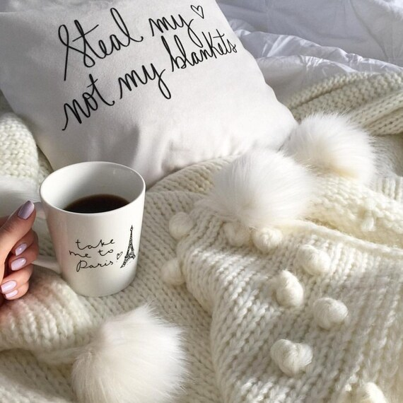 Steal my heart not my blankets 18 by daynaleecollection on Etsy