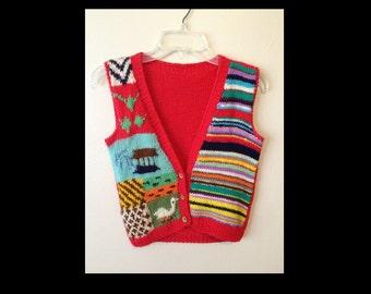 70s sweater vest   Etsy