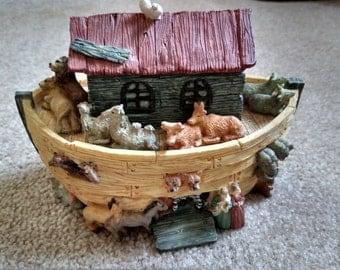 Vintage Noah's ark resign bank