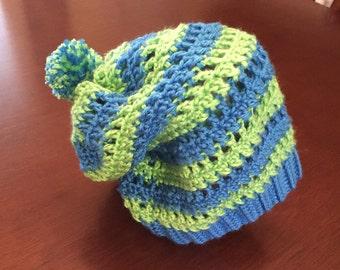 Teen/Adult Crochet Slouch Beanie
