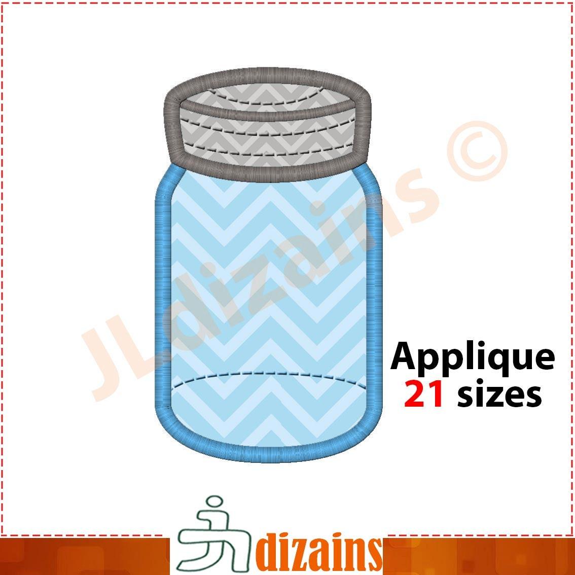 jar machine embroidery design