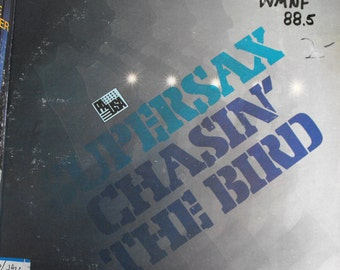 "Supersax, Chasin' the Bird, Vintage Record Album, Vinyl LP, Classic Jazz Blues, Charlie ""Bird"" Parker Tribute Album, Rare Hard to Find"