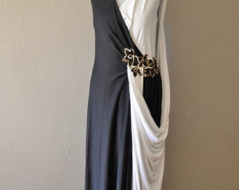 Vintage Evening french dress, 1970s