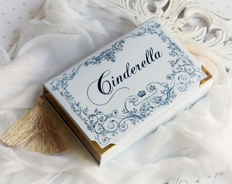 Wedding Book Clutch CINDERELLA by Grimm Brothers (name/date possible)