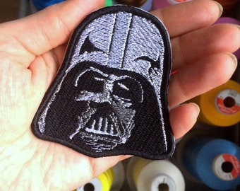 Darth Vader Star Wars patch. Embroidered.