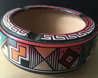 Vintage Ecuadorian Handmade Ashtray