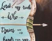 Scripture Art, Canvas Wal...