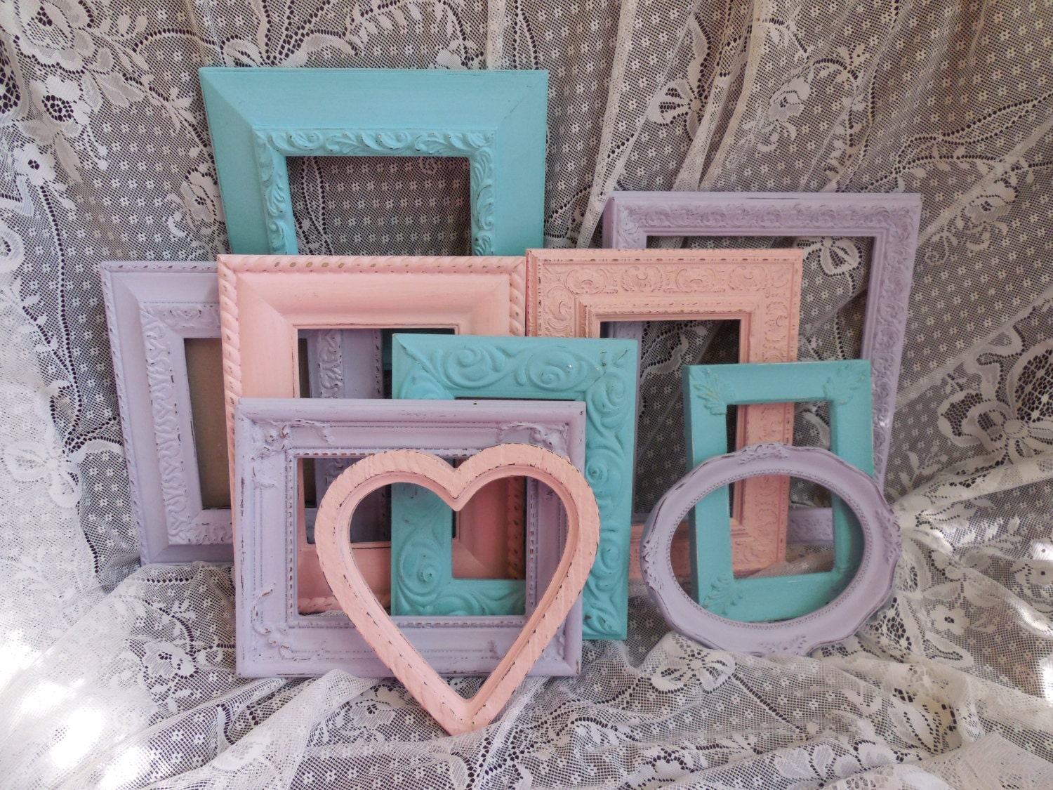 Pastel frames free shipping pink lavender teal lilac aqua pastel frames free shipping pink lavender teal lilac aqua turquoise nursery picture frames decor wedding photo 8x10 5x7 4x6 jeuxipadfo Image collections