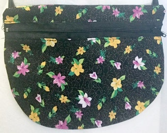Flower Fanny Pack - Floral Fanny Pack - Fanny Pack - Adjustable Fanny Pack - Fitness Pouch - Workout Gear - Hip Bag - Waist Bag - Travel Bag