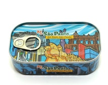 Sao Paulo air-Air can Souvenir-Canned Air From São Paulo, take the atmosphere of your favorite city with you. Creative, Innovative.