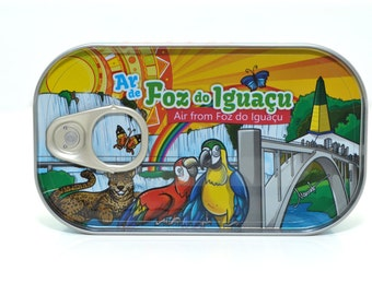 Canned Air from Iguassu Falls Souvenirs
